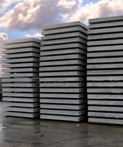 betonnen vloerplaat