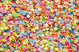 gevulde snoepzakken